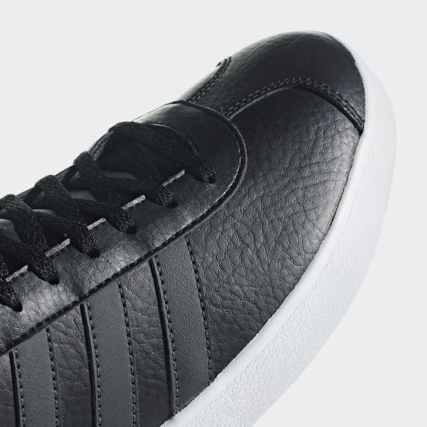 Details about ADIDAS Mens VL Court 2.0 Trainers (Black)