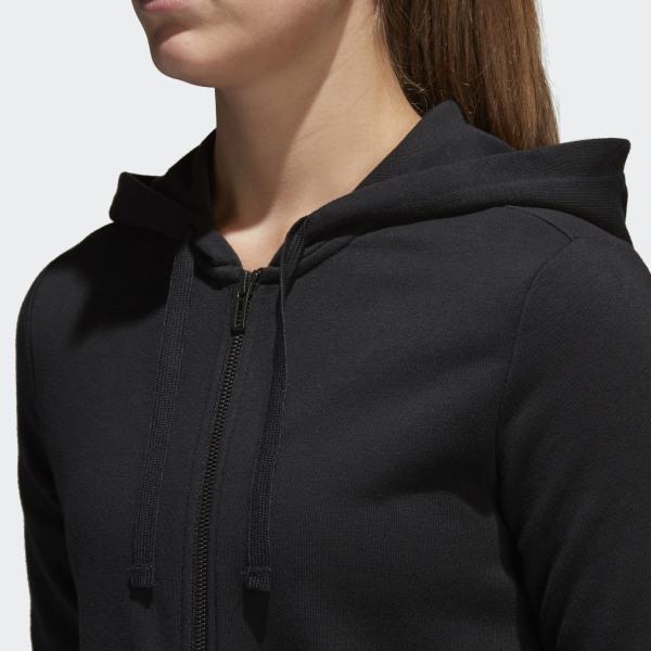 adidas Essentials Linear Hoodie Black   adidas US