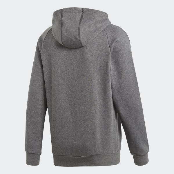 adidas Core 18 Hoodie Grey | adidas US