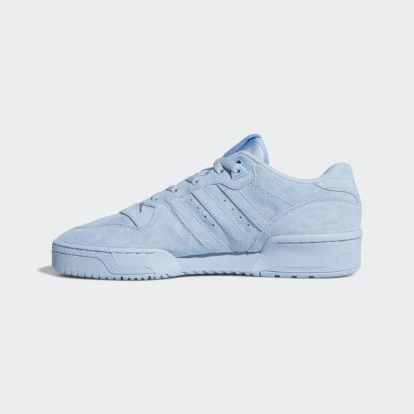adidas Rivalry Low (Grau Weiß Blau)