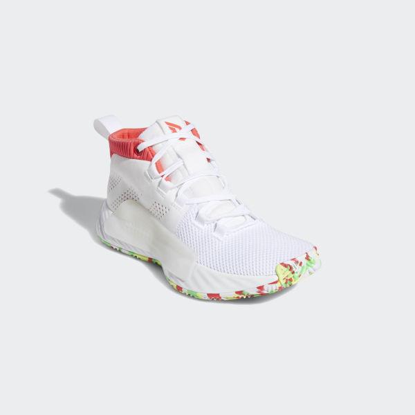 adidas dame 5 white