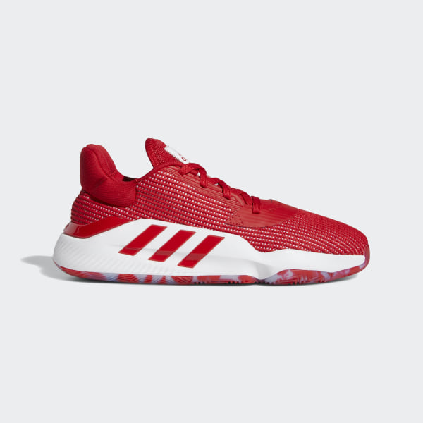 adidas Pro Bounce 2019 Low Schuh Rot   adidas Switzerland
