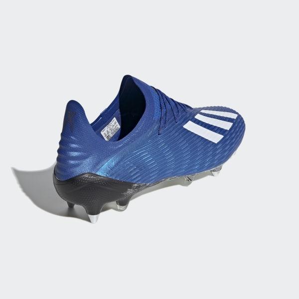 Scarpe da calcio X 19.1 Soft Ground Blu adidas   adidas