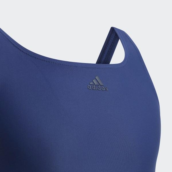adidas Athly V 3 Streifen Badeanzug Blau | adidas Switzerland