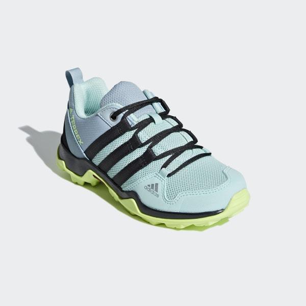 adidas Terrex AX2R CF Kinderschuh Clear Mint Carbon Hi Res Yellow