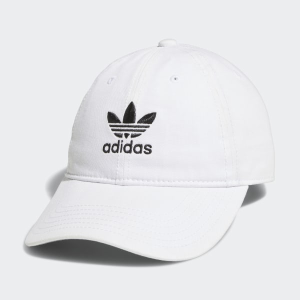 adidas Originals Relaxed Strap Back Hat White | adidas US