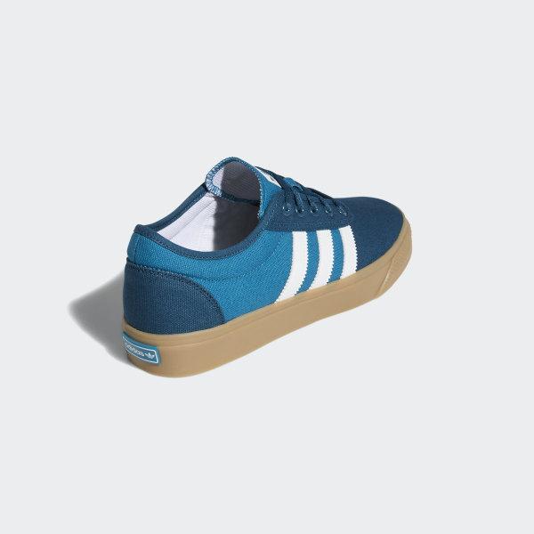 adidas Originals ADIEASE SHOES Menn blå Rund Joggesko