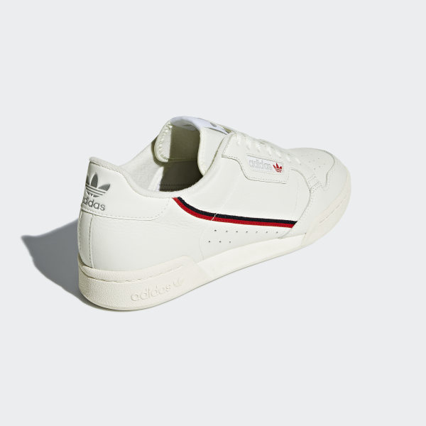 Continental 80 Shoes Off White / Off White / Scarlet B41680