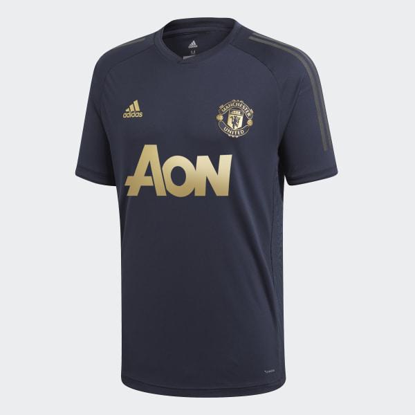 Manchester United Ultimate Training Jersey Bleu adidas | adidas France