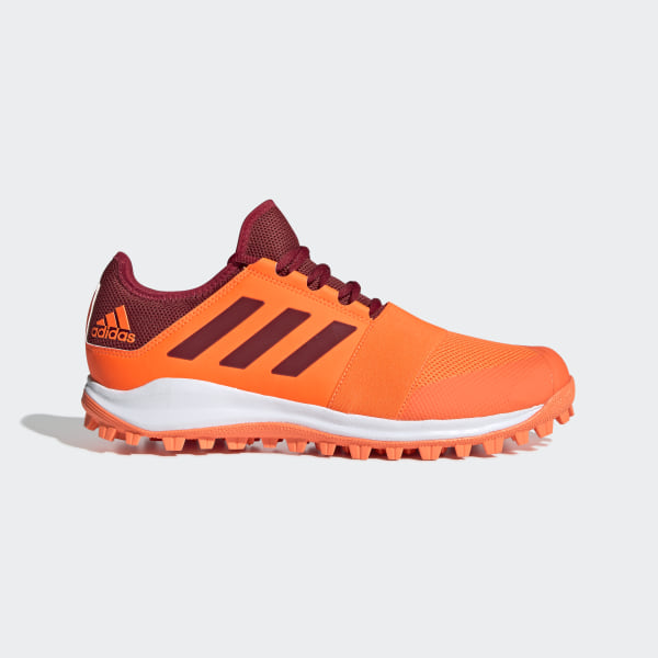 Details about ADIDAS ZonE DoX FielD HockeY TurF TraineR NEW MENS ShoeS BluE OrangE SIZE 13