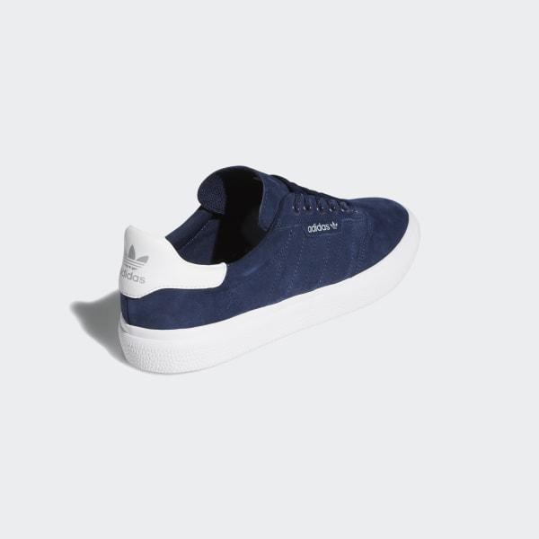 adidas Originals 3MC Sneaker, Collegiate NavyWhiteWhite, 12 M US