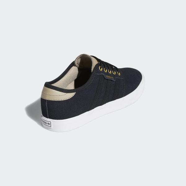 adidas originals seeley premiere sneaker low core black white