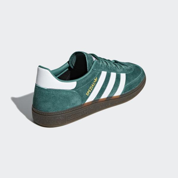 adidas Sneaker HANDBALL SPEZIAL GRÜN ORANGE Herren Schuhe