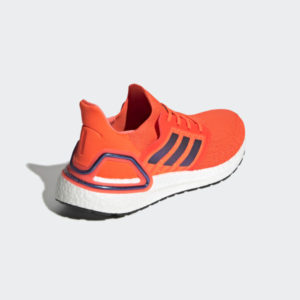 Attractive Blue Orange Adidas Running Shoes Energy Boost