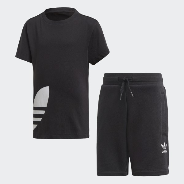 adidas t shirt shorts set