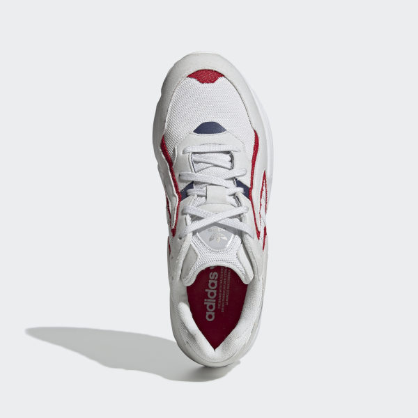 Yung-96 Chasm Trail Shoes Crystal White / Crystal White / Scarlet EE7243