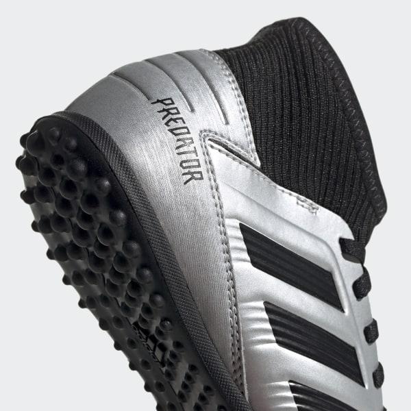 adidas Predator 19.3 TF Silver MetallicCore BlackRed