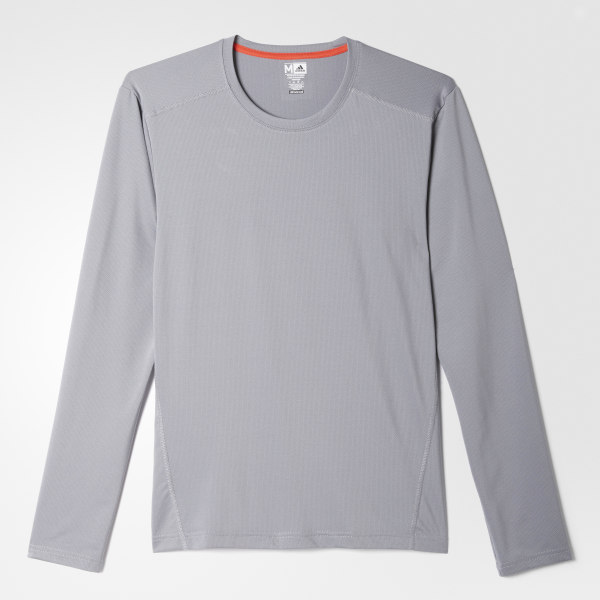adidas Climacool Single Crew Tee Grey | adidas US