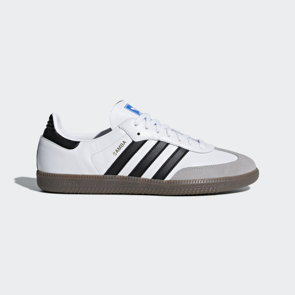 baskets adidas samba blanche