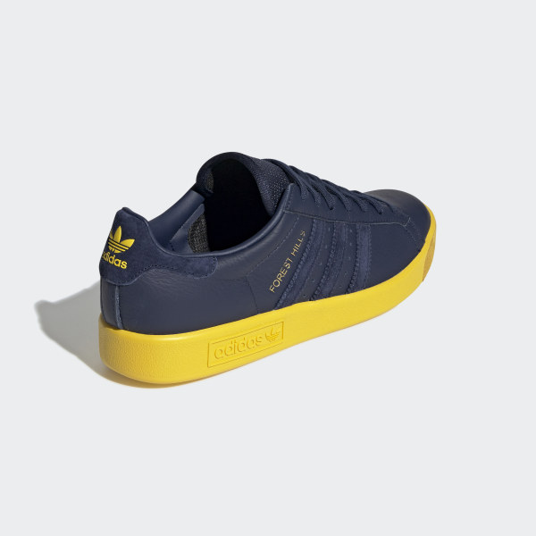 adidas Originals Forest Hills night indigo night indigo tribe yellow