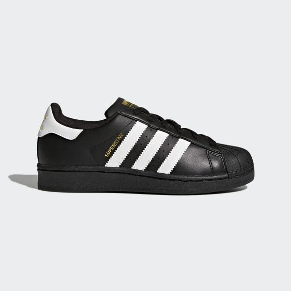 100% quality detailed look shades of adidas Superstar Foundation Shoes - Black | adidas UK