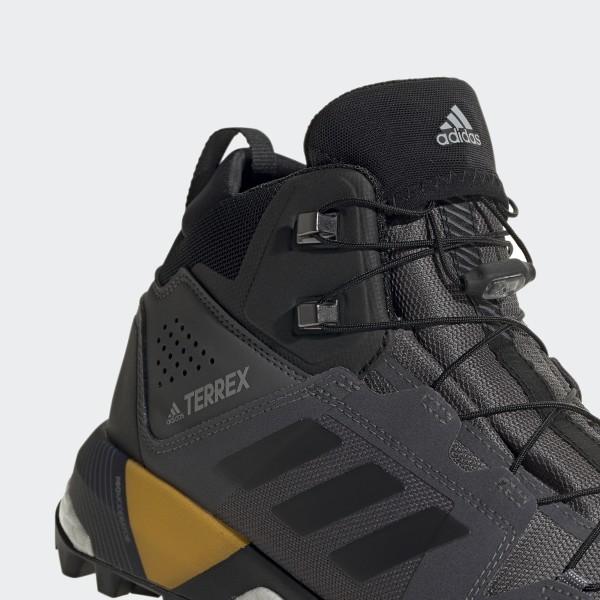 adidas TERREX Agravic XT GTX Shoes Herren grey fivecore blackactive orange