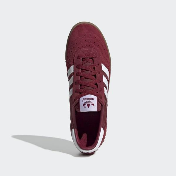 adidas Indoor Super shoes maroon