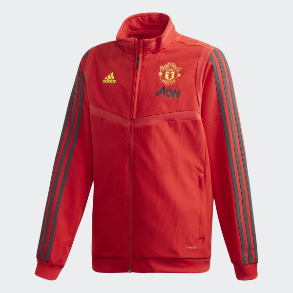 Veste de présentation Manchester United Rouge adidas   adidas Switzerland