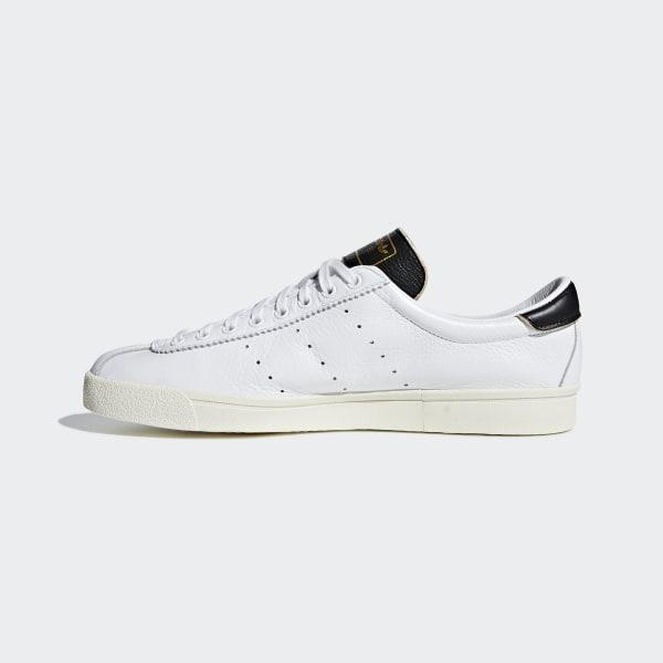 Adidas originals zapatillas de cuero en blanco lacombe