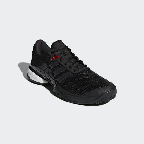 adidas Barricade 2018 Clay Shoes Black | adidas Australia