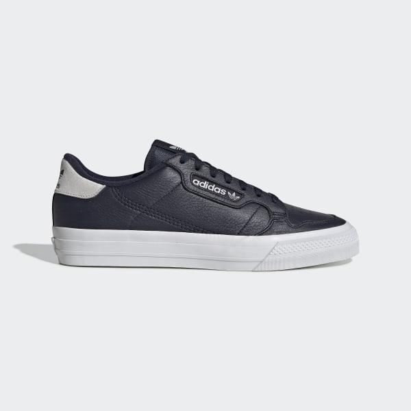 adidas Continental Vulc Schoenen Blauw | adidas Officiële Shop
