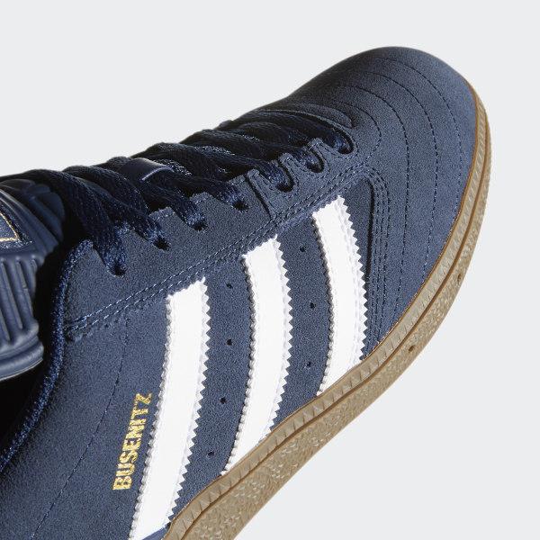 Busenitz Shoes in Collegiate Navy Footwear White Gum by