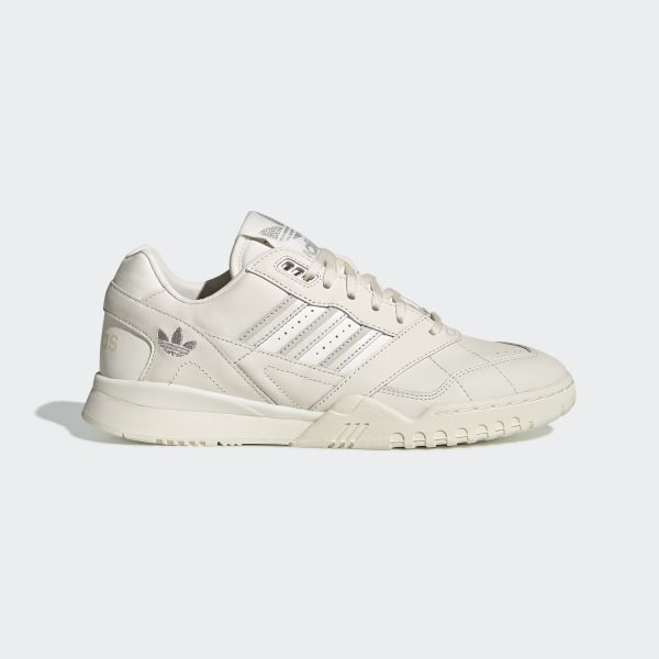 adidas Originals A.R trainers in white