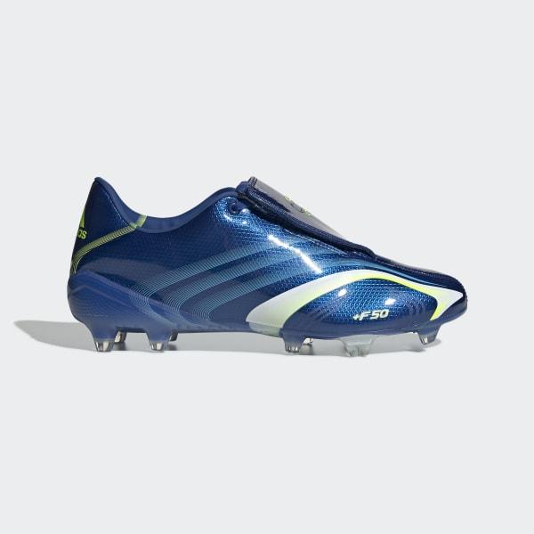 variété de dessins et de couleurs acheter haute couture Chaussure F50 Terrain souple - Bleu adidas   adidas France