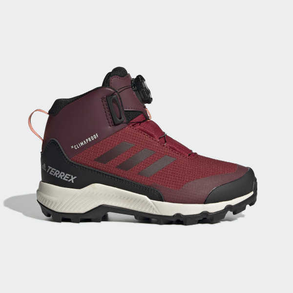 for whole family wholesale outlet performance sportswear adidas Terrex Winter Mid Boa Hiking Shoes - Burgundy | adidas Finland