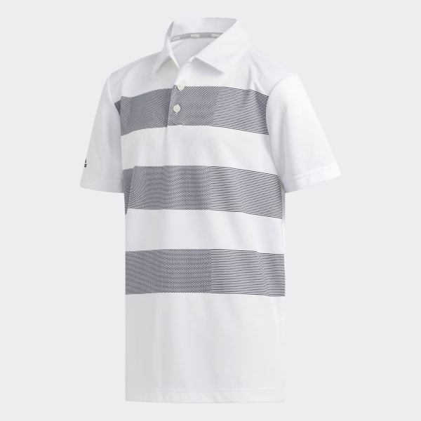adidas 3 stripe polo shirt