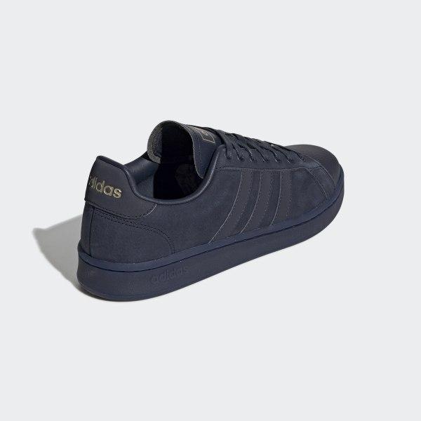 adidas grand court uomo blu