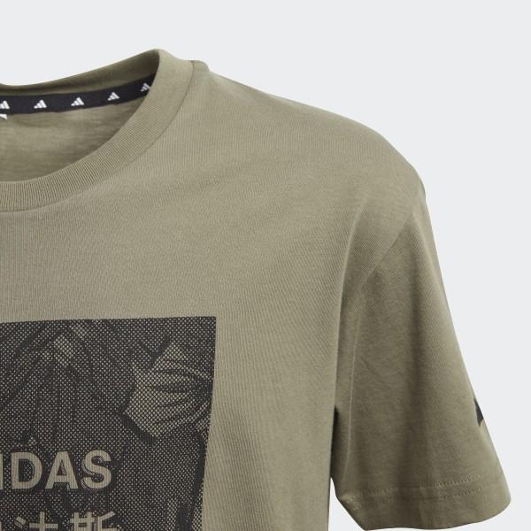 adidas Athletics Pack T skjorte Grønn | adidas Norway