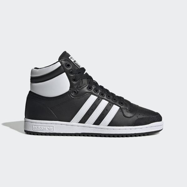 adidas Top Ten Hi Schoenen - Zwart   adidas Officiële Shop