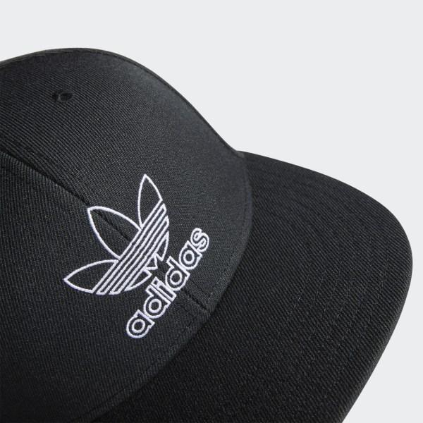 adidas Signature Outline Snapback Hat White   adidas US