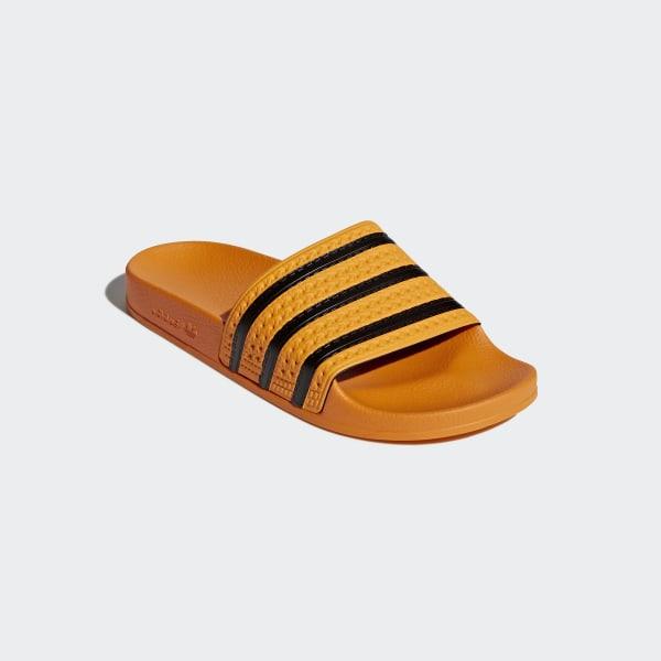 adidas Originals Sandaler Adilette Real GoldCore Black