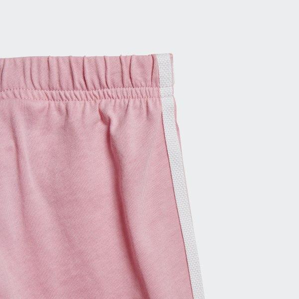 adidas Originals TEE SET Tracksuit bottoms white light