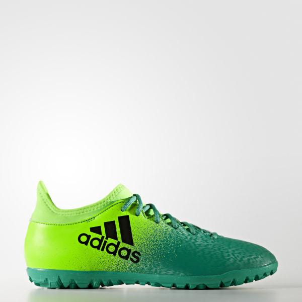 adidas Calzado X 16.3 pasto sintético Verde   adidas Mexico