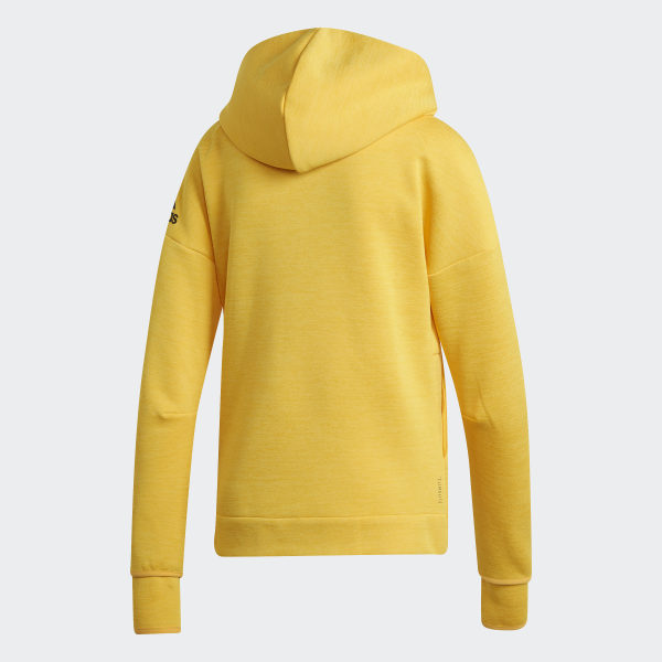 adidas Z.N.E. Fast Release Hoodie Yellow | adidas US