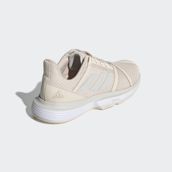 adidas Sapatos CourtJam Bounce Bege   adidas Portugal