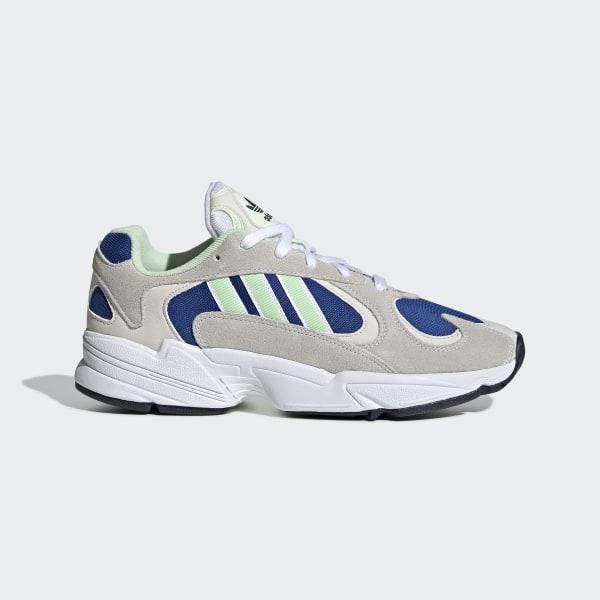 Adidas Men's Originals Yung 1 Cloud WhiteGlow Green