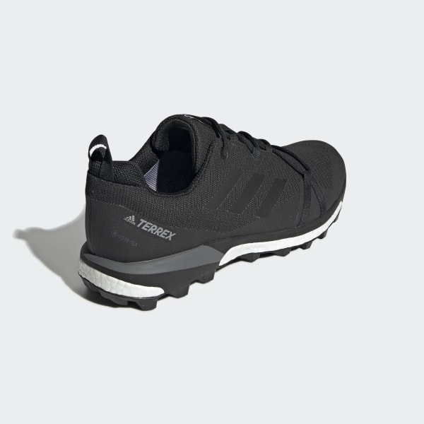 Damen Terrex Skychaser LT GTX Schuhe carbon UK 7.5