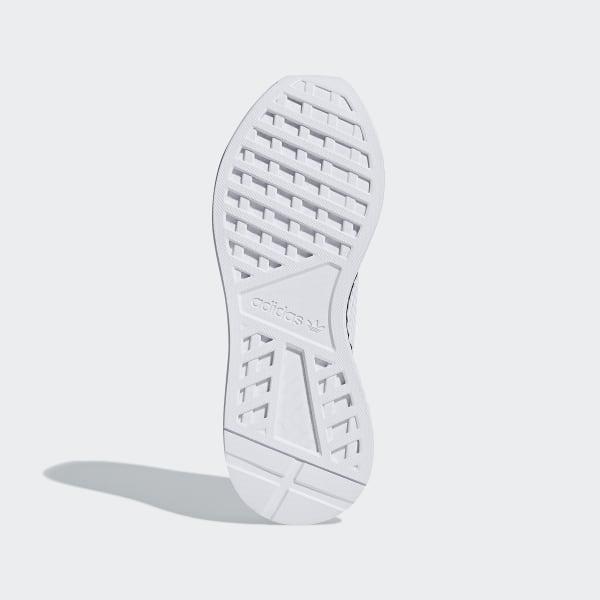 adidas deerupt runner white black on feet B41767 (1