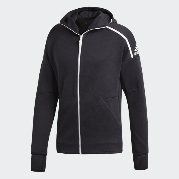 adidas originals real madrid, Adidas Zne huvtröja Grå Dam
