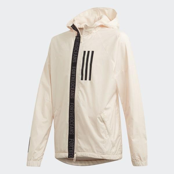 on sale fc8d5 c8805 Giacca a vento Parley - Beige adidas | adidas Italia